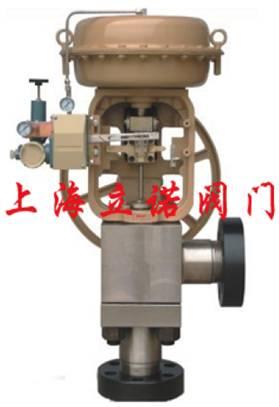 230气动薄膜角形高压调节阀